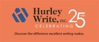Pam Hurley<br>President<br>Hurley Write, Inc.