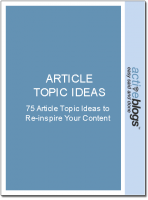 Article Topic Ideas