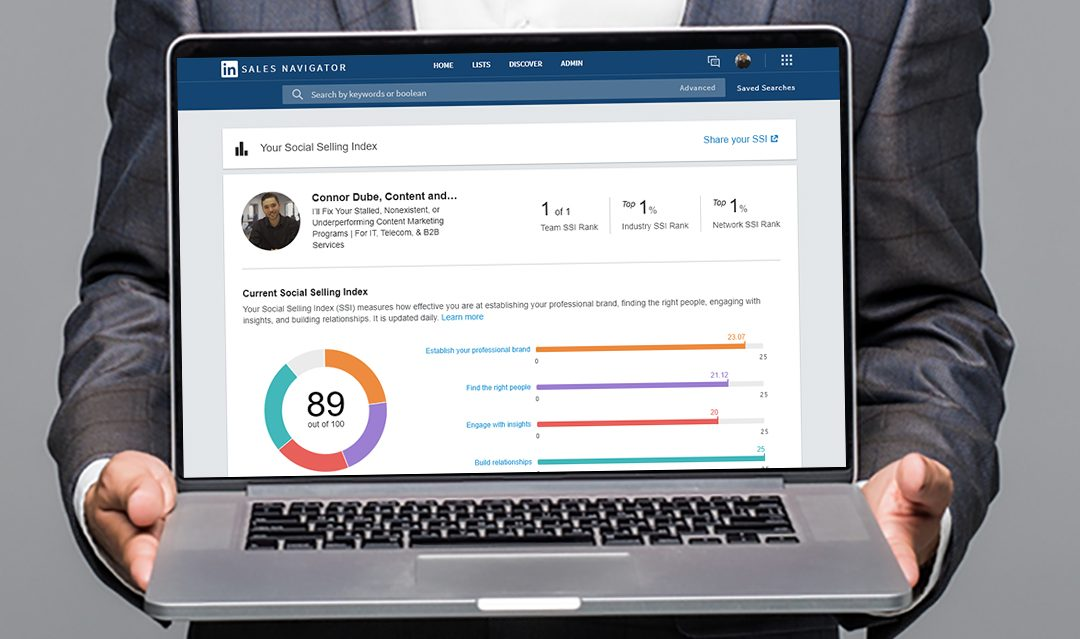 Improve Your Social Selling Strength with LinkedIn's Social Selling Index