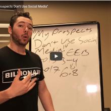 "B2B Marketing: ""My Prospects Don't Use Social Media"""